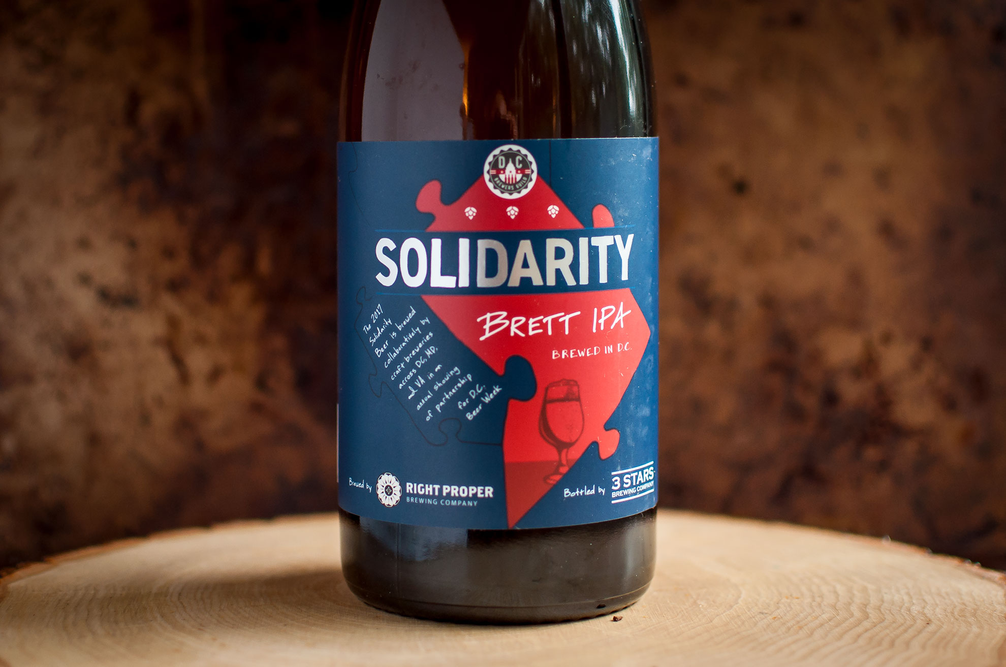 Solidarity Beer Label