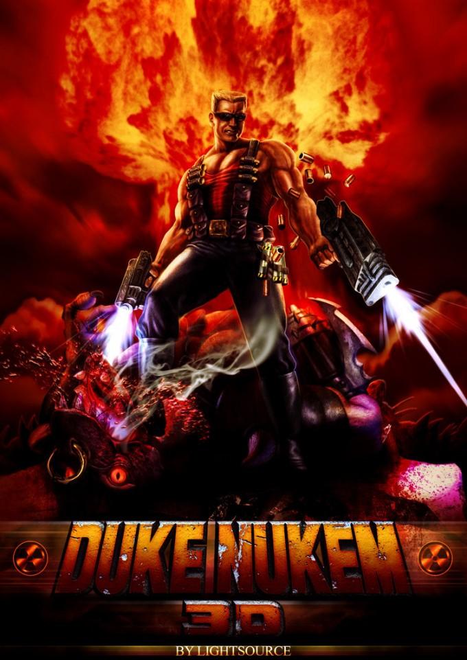 Iphone X Nerdy Wallpaper 50 Epic Artwork Illustrations Amp 3d Design Of Duke Nukem