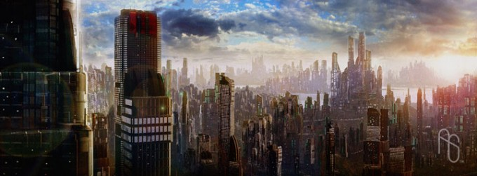 Futurist Anime Girl Wallpaper 60 Epic Futuristic Design
