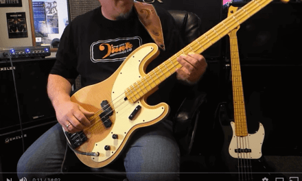 Genzler Magellan 800 Amp & Bass Array Cabs – Demo – Andy Irvine