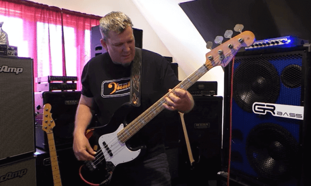 1975 Jazz Bass – w/Nordstrand NJ4-SV & GRBass Rig – Andy Irvine