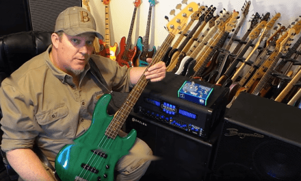 DEMO – Nordstrand StarLifter Preamp/DI pedal – Andy Irvine