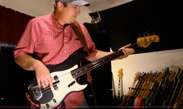 Funky Fretless P Bass – Nordstrand PowerBlades – Andy Irvine