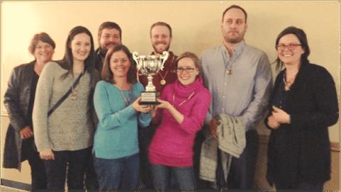 The 2014 Champions - Summit Preparatory School Trivia Night