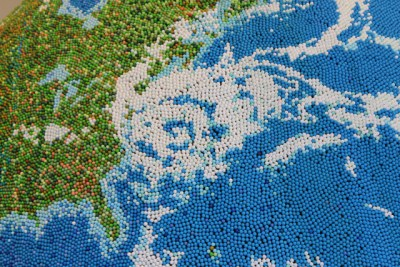 Globe - Hurricane Sandy