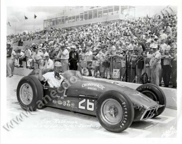 Jim Rathmann Indianapolis 1957