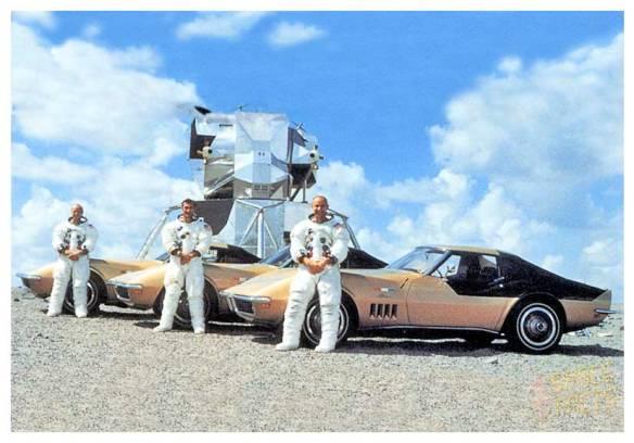 Conrad Gordon Bean avaient la même Corvette Stingray