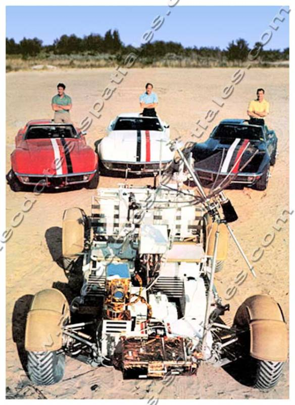 Apollo 15 - Les trois corvettes