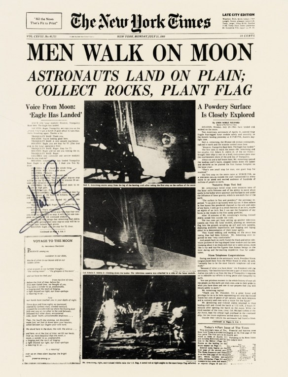 NYT 21 juillet 1969