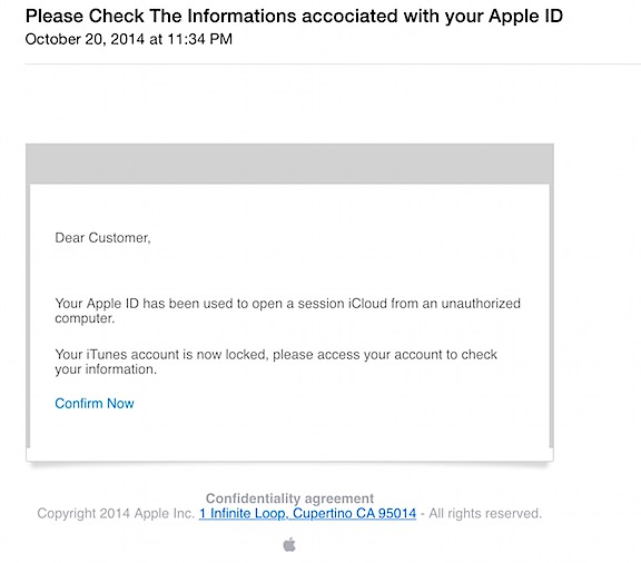 An Apple ID Hack Attempt | An Eclectic Mind