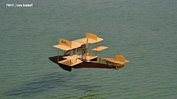 Flying Boat Floating