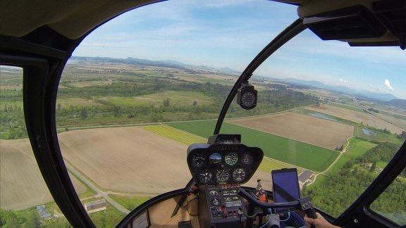 Flying Near the Coast