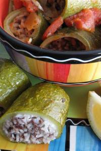Arabic Stuffed Zucchini (Kousa Mahshi)