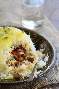 Beef Biryani Stuffed Inside Basmati Rice