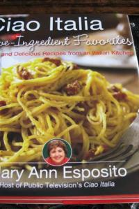 Cookbook Review & Recipe for Linguine Roman Style