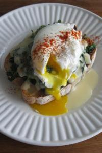 Welsh Rabbit (With Spinach & Poached Egg) & An Announcement
