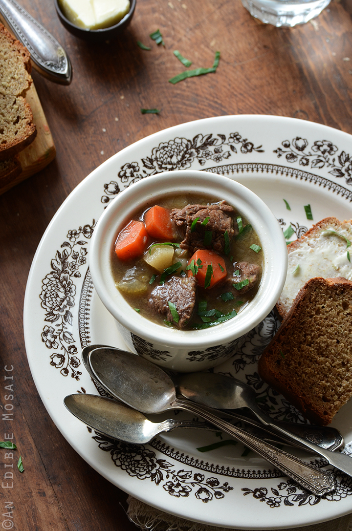 Guinness Beef Stew and Irish Brown Soda Bread 4