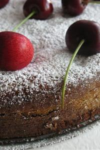 Spumone Pudding Cake {With Avocado}