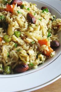 Ramadan, Recipe for Pilaf-Style Biryani, & Giveaway Winner!