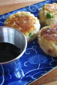 Indian Potato Croquettes (Aloo Tikki)