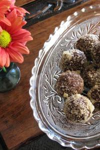 Fall & Gingered Truffles
