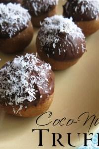 Raw Coco-Nutty Truffles — In the Raw…Daily Dessert Indulgences