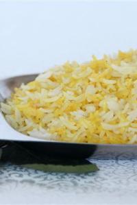 White & Yellow Rice