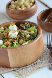 Bread Crumbed Salad