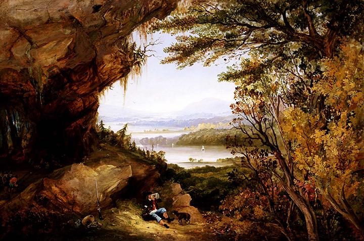Rip Van Winkle Painting