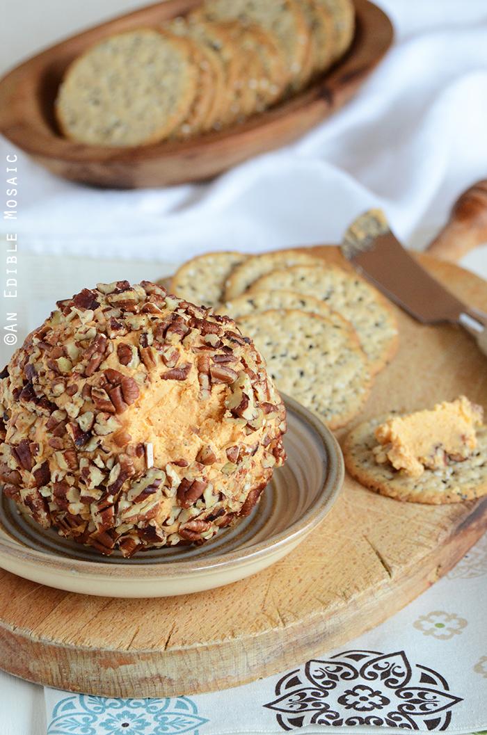 Cheddar Cheese Ball Appetizer (Or Cheddar Pub Spread) 2