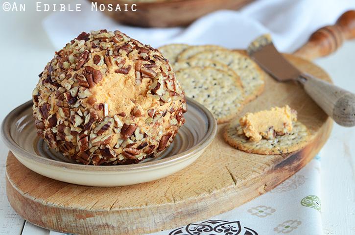 Cheddar Cheese Ball Appetizer (Or Cheddar Pub Spread) 3