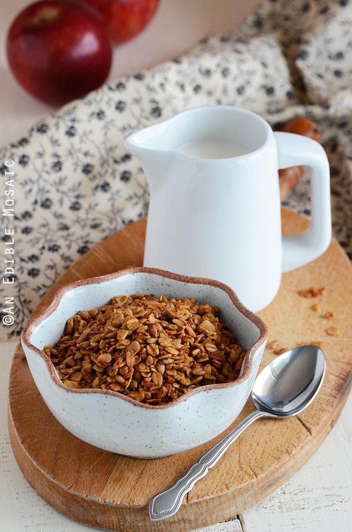 Pumpkin Spice Granola 1