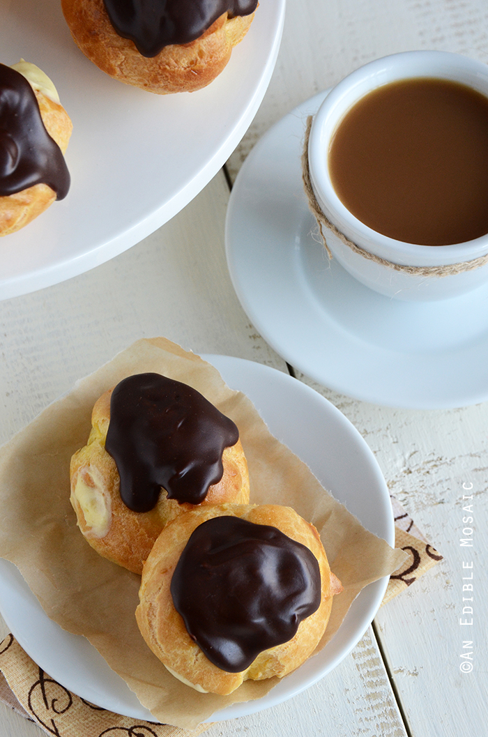 Cream Puffs (Profiteroles) 3