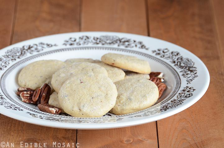 Maple Pecan Shortbread Cookies 2