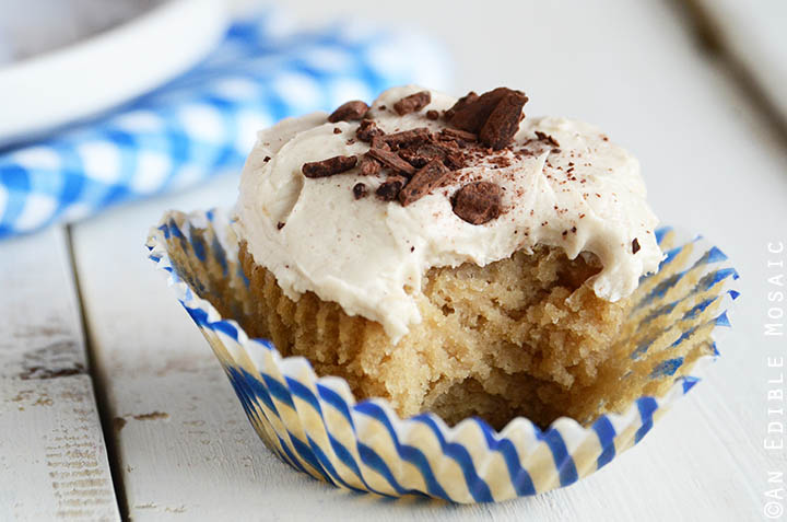 Caramel-Vanilla Cupcakes for 5 {Vegan} 4