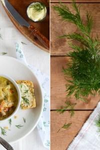 Creamy Fava-Dill Soup