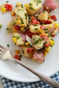 Roasted Veggie Potato Salad