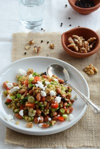 Wheat Berry Salad with Fruity Vinaigrette