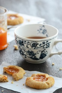Jam-Filled Shortbread Cookies