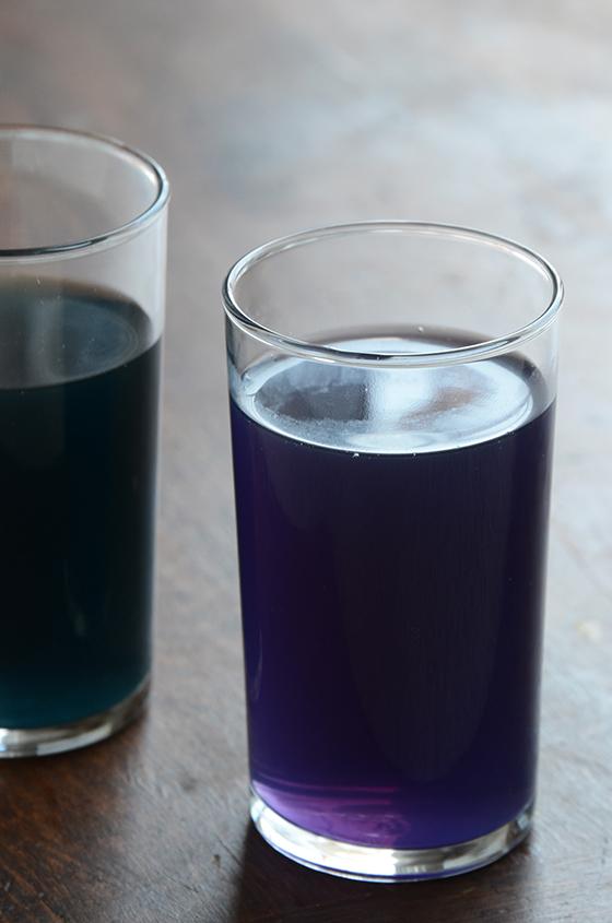 How To Make Natural Purple Teal Blue Green Fuchsia Purple