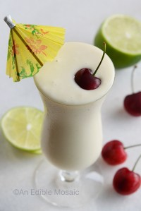 Pina Colada Smoothie {Frozen Treat Week}