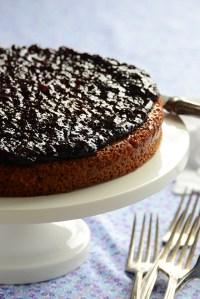 Jam-Topped Spiced Honey Cake