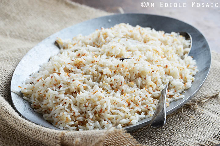 Coconut-Sesame Rice 4