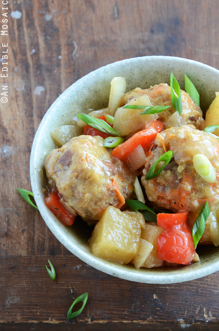 Sweet and Sour Turkey Meatballs 2