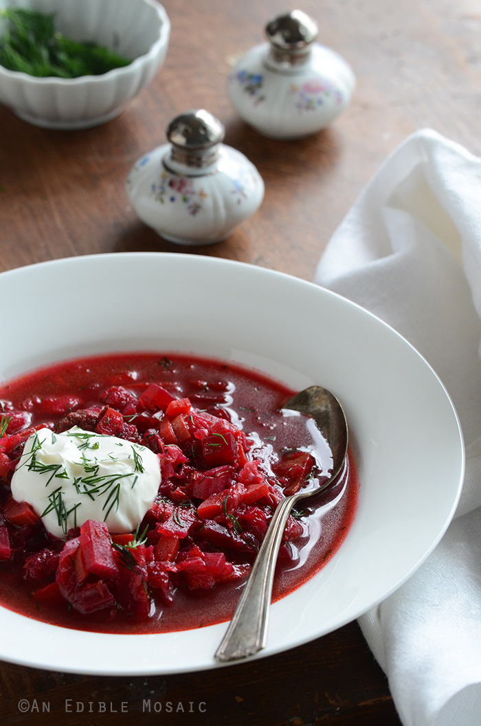Borscht Recipe (Russian-Style Beet Soup)
