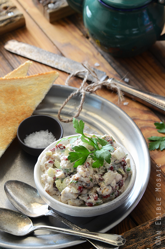 Creamy Cranberry-Walnut Chicken Salad 3