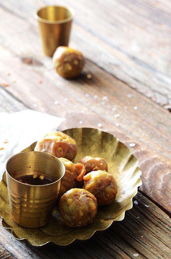 Grain-Free Thai Eggplant Tempura with Spicy Garlic-Soy Dipping Sauce 4