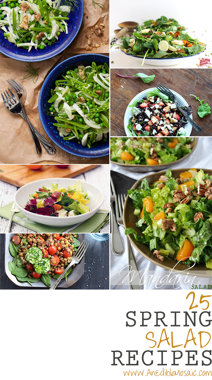 25 Spring Salad Recipes