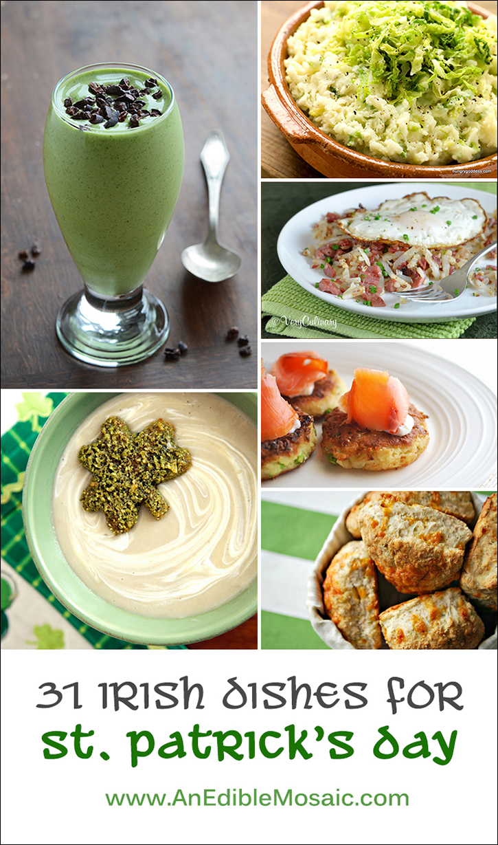 31 Irish Dishes via An Edible Mosaic