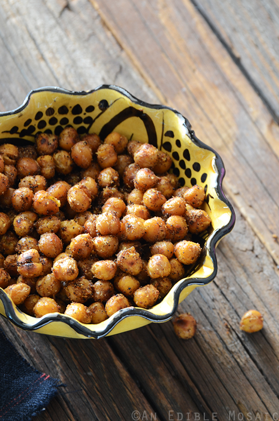Falafel-Spiced Roasted Chickpeas 2